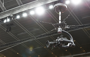 4 mounting points cable camera system