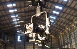 4点吊ケーブルカメラ